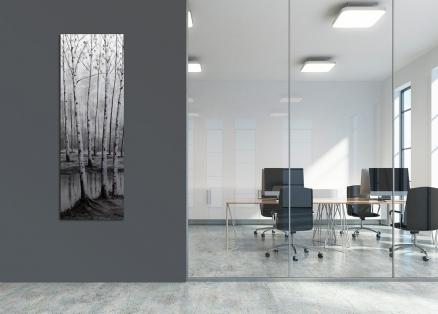 Cuadro paisaje en gris (bci175)