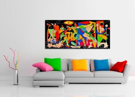 Cuadro Guernica versión colores (bci200)