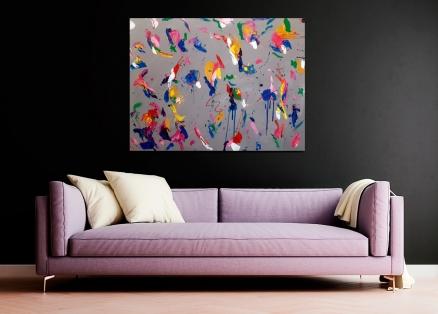 Cuadro abstracto color (bci5008)