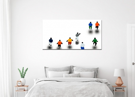 Cuadro figuras colores (bci803)