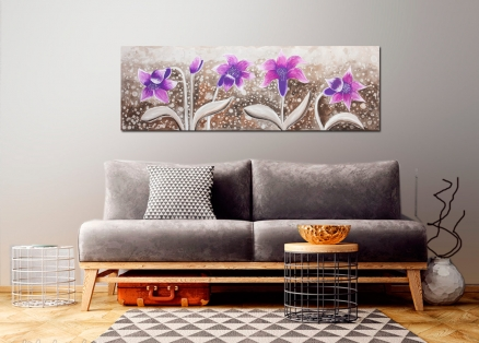 Cuadro flores (bdectn4372L)