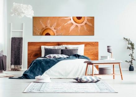 Ideas para elegir un cuadro para el cabezal del dormitorio