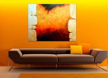 Cuadro abstracto (bdga110)