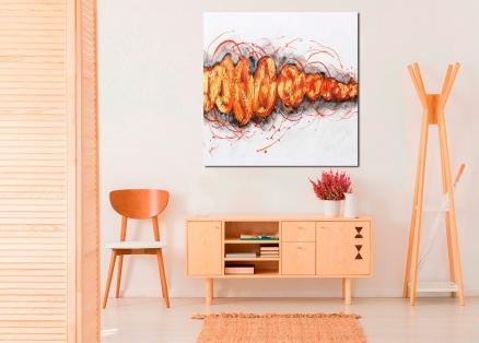 Cuadro abstracto moderno (bdga2010)