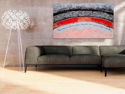 Cuadro abstracto con texturas (bdga203)