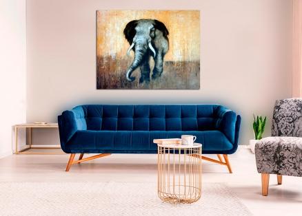 Cuadro elefante (bdgf033)