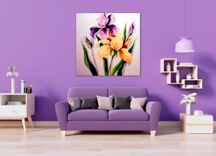 Cuadro flores (bdgf056)