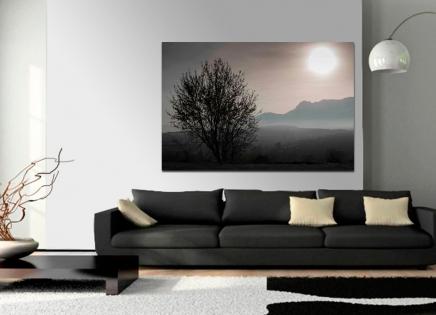 Cuadro paisaje arbol y sol (bept1)