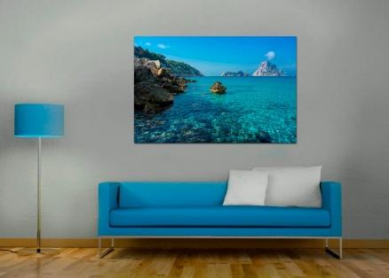 Cuadro paisaje marino rocoso (bept1016)