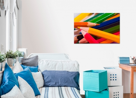 Cuadro lapices de colores (bept1032)