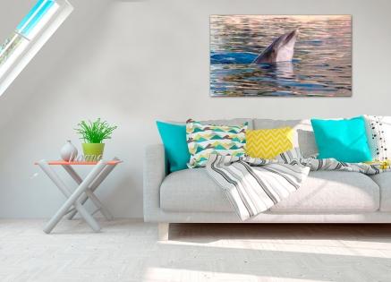 Cuadro delfin (bfl14493206)