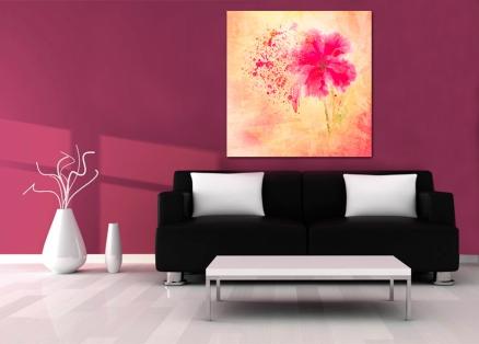 Cuadro flor moderna (bfl180613908)