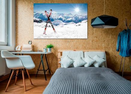 Cuadro esquís (bfl31526993)
