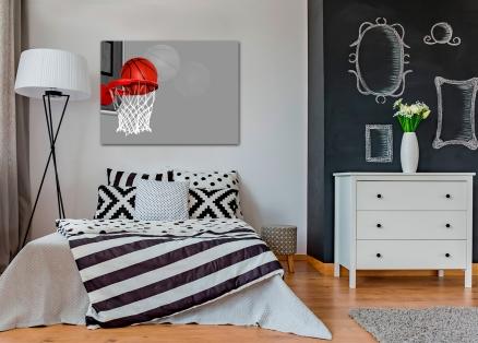 Cuadro canasta basquet gris (bfl35206573gris)