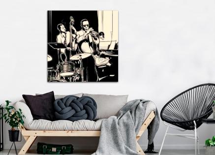 Cuadro banda de jazz (bfl55256850)