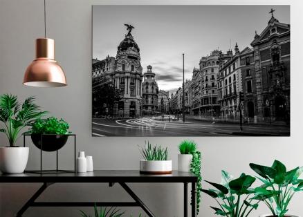 Cuadro de Madrid byn (bfl74041696byn)