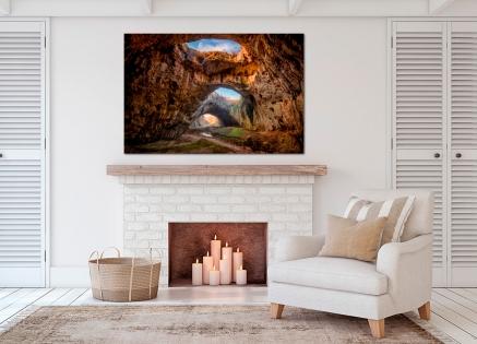 Cuadro montañas y cuevas (bfl90617447)