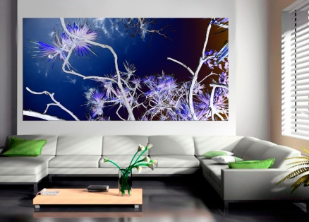Cuadro flores arte digital (bgca0523)