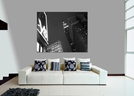 Cuadro Empire State blanco y negro (bgca1274)