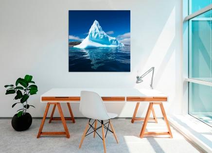 Cuadro paisaje de iceberg (bgca2736)