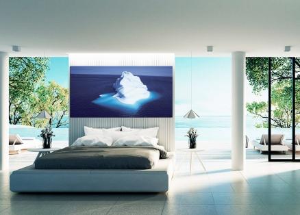 Cuadro iceberg en el mar (bgca2738)
