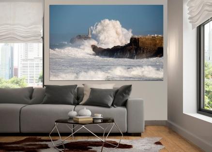 Cuadro paisaje del mar (bgca2743)