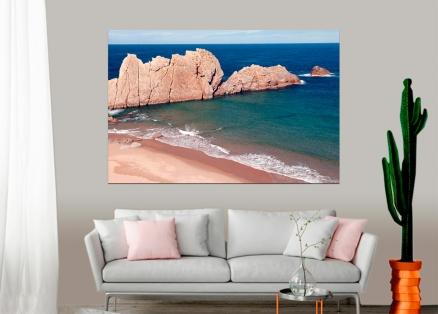 Cuadro rocas en la playa (bgca2766)