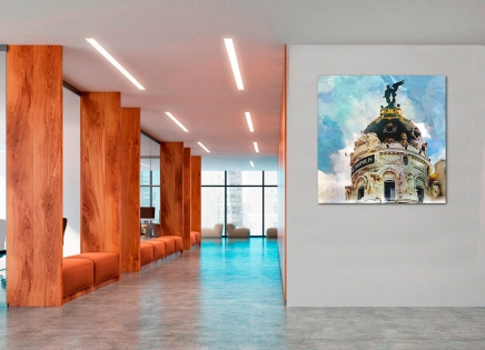Ideas para colgar cuadros en oficinas o despachos profesionales