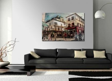 Cuadro Paris Montmartre (bjlp067)