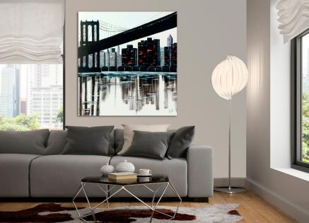 Cuadro Puente Nueva York (bjpd9327)