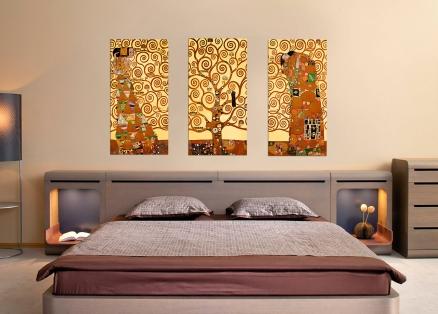 Triptico arbol de la vida de Klimt (bme053505-6-7)