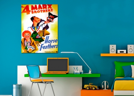 Cuadro cartel cine los hermanos marx (bme087004)