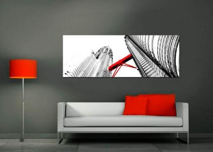 Cuadro petronas pasarela roja (bme170112)adv