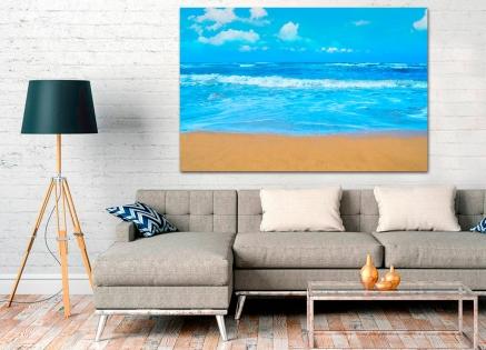 Cuadro playa (bme260001)