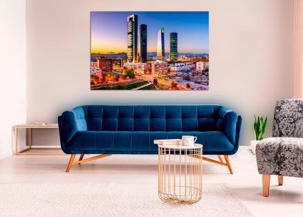 Cuadro torres Madrid (bme260002)