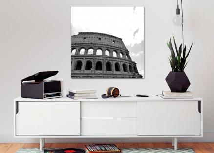 Cuadro Coliseo Roma byn (bpmv005)