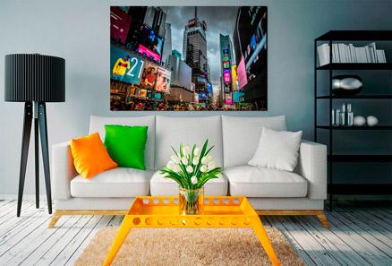 Cuadro luces en Nueva York (bpx0033)