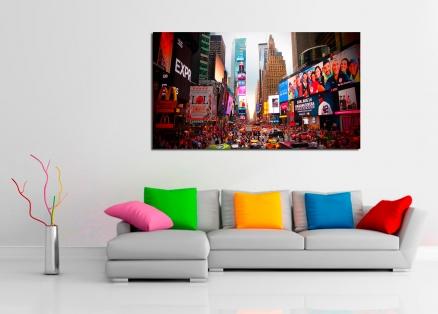 Cuadro vida en  Nueva York (bpx0041)