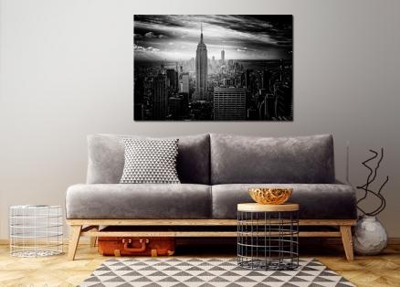 Cuadro Nueva York blanco y negro (bpx0043)
