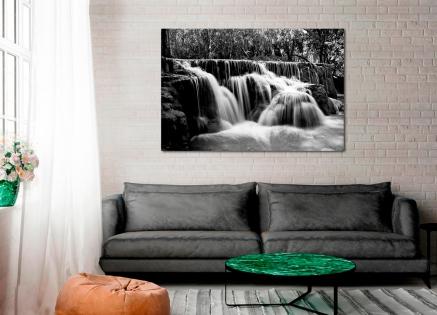 Cuadro paisaje cascada (bpx0343)