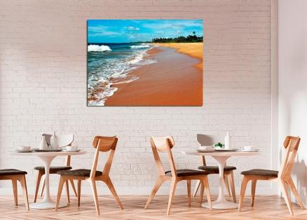 Cuadro paisaje playa paradisiaca (bpx0360)
