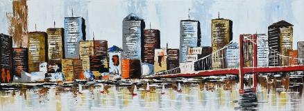 Cuadro Puente de Nueva York (b0501)