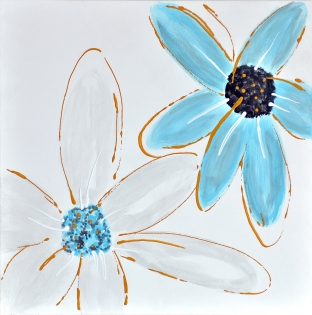 Cuadro flores (b14)