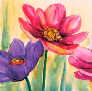 Cuadro flores (bb4009)