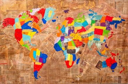Cuadro mapa colores (bci1123)