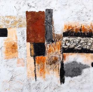Cuadro abstracto textura (bdga361)