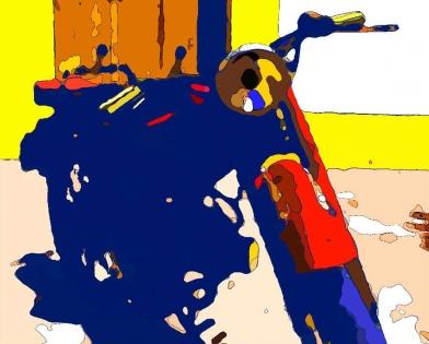 Cuadro moto pop (bept1045)