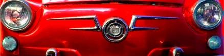 Cuadro coche seiscientos rojo (bept1053)