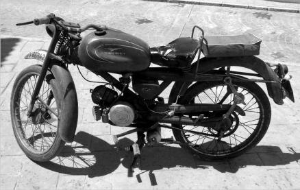 Cuadro moto guzzi (bept1058)