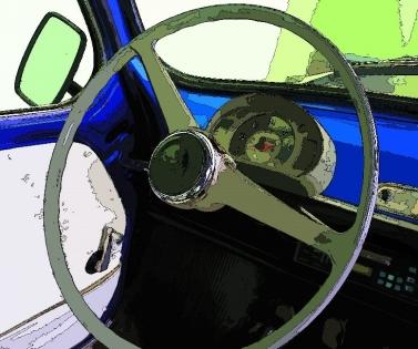 Cuadro volante coche (bept1060)